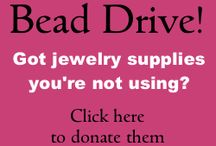 2014 JMJ Bead Drive / This years bead drive will help Under His Wings, an Alabama home for teen girls in crisis.  / by Jewelry Making Journal