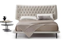 """Natuzzi Beds / """"day and night, conviviality and silence, liveliness and calm"""""""