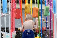 Water Play / Ideas for the EYFS / Early Years / ECE / Preschool / Kindergarten classroom.
