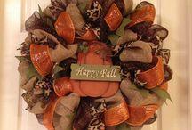 Wreath ideas  / by Jenna Utley