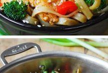 pasta og kylling retter
