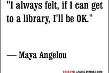 Library & Book Quotes