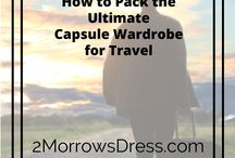 Capsule Wardrobe ideas / Capsule Wardrobe ideas and inspiration.  Minimalism and creating more outfit and fashion combinations with fewer items of clothing.  Minimal clothing pieces for maximum outfit choices.