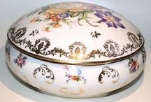 Porcelana antigua / Porcelana antigua. Porcelana vintage francesa de Limoges