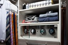 Closet Accessories / Organized Interiors has a wide range of products you can add to your closet design.
