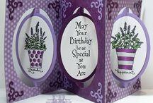 accordion oval card elizabeth craft designs