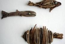 art with wood / kunst met hout