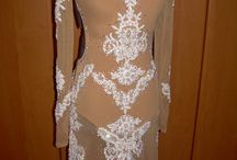 Dress for ballroom dancing to order. / Dresses my work
