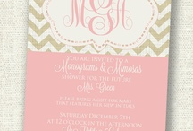 Monograms and Mimmosas / by Claire Springer