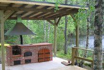Kesäkeittiö - Summer kitchen / Ideas for cooking outdoors