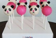 Animal Inspired Cake Pops