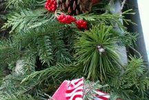 Vánoce. making Christmas