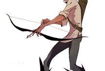 Cartoon humanoid