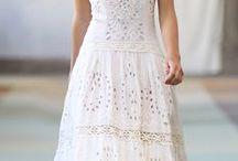 Летние белые платья