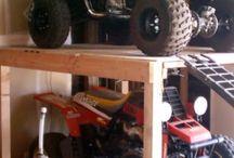 garage orginiser
