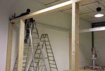 Casa in Legno / Stiamo realizzando una casa in legno di circa 80mq all'interno del nostro show room