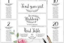 Seating Charts / Editable Seating Charts Templates