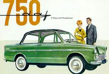 VINTAGE CAR ADVERTISING / 50's, 60's and 70's cars / by Rene Naebers