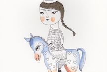 Illustration / by Joanka Zawadzka