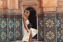 INSPIRATION BOARD Morocco photoshoot