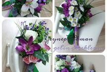 Zeynep Akman gelin çiçekleri...