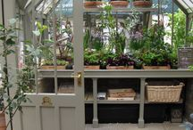 Beautiful Greenhouses / Glass recycled greenhouses