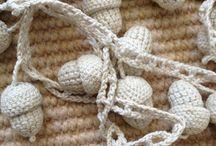 Guirnaldas Crochet Garland