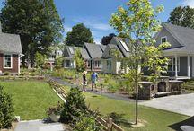 Neighborhood Developement / Sustainable development of urban, suburban and rural communities. / by Lia Nielsen