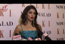 Debina Bonnerjee at a Kalkifashion wear store / Debina Bonnerjee at a Kalkifashion wear store is looking absolutely electrifying in a blue and black stripe gown that is a perfect evening wear and goes on to enhance the style of any woman.
