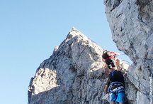 Klettern - Bouldern - Klettersteige