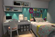 quarto / inspirações para decoração do quarto