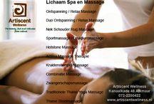 Massage en Beauty Salon Alkmaar / Oosterse en Thaise Massage en Beauty Salon Artiscent Wellness Kanaalkade 48 Alkmaar