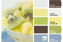 Color me Inspired / Color boards that inspire/intrigue