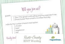 rsvp card or wording ideas