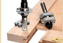 Joining wood with different router bits