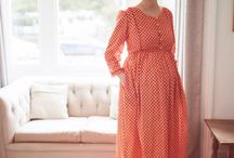 Spring/summer 2017 vintage-inspired maternity wear / Clary & Peg's new collection
