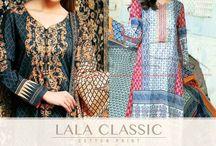 Lala Classic Cotton Print Midsummer Vol 1. / #Lala Classic #Cotton Print #Midsummer Vol 1.  #pakistan #style #style360 #fashion
