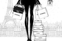 Parisienne Illustrationen