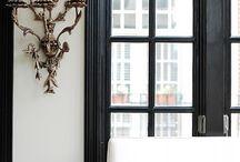 Black Windows / Black Windows / by Cindy Hattersley Design/Rough Luxe Lifestyle Blog