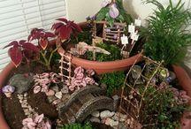 Fairy garden/Tündérkertek / Készíts Te is tündérkertet saját kezűleg!