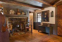 Colonial interiors & exteriors
