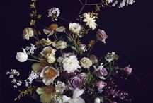 Florals / Beautiful fine art floral design inspiration perfect for wedding and event floral design.
