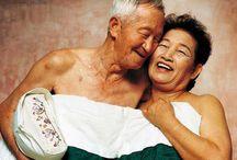 Sensualidad Adultos mayores / Ideas para campaña