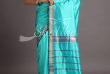 Maheshwari Silk Sarees / Straight from the heart, Purity Guaranteed!! Maheshwari Pure Silk Sarees at 30% off!