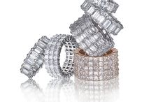 Podicko Anniversary Rings / Display of Podicko Anniversary Ring Collection