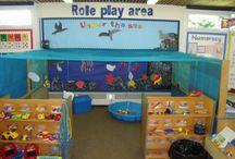 Thema onderwater/mooiste vis van de zee. groep 1/2 / leuke onderwijsideeen voor het thema onderwater voor kleuters