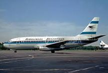 Aerolineas Argentinas / Aviones de Lineas Argetninas