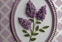 quilling virágok