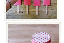 paper craft n pop sticks