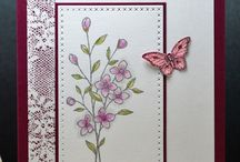 Card making flowers